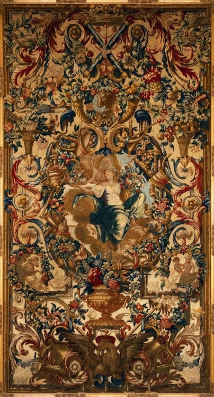 Гобелен Аллегория Весны - Франция - Шарль Лебрен - 1680.jpg