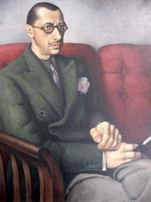 Стравинский Федор Игоревич (Theodore Strawinsky, 1907-1989) Портрет отца Игоря Стравинского. 1929.jpg