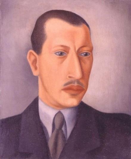 Стравинский Федор Игоревич (Theodore Strawinsky, 1907-1989) Портрет Игоря Стравинского. 1925 (2).jpg