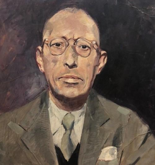 Стравинский Федор Игоревич (Theodore Strawinsky, 1907-1989) Портрет Игоря Стравинского.jpg