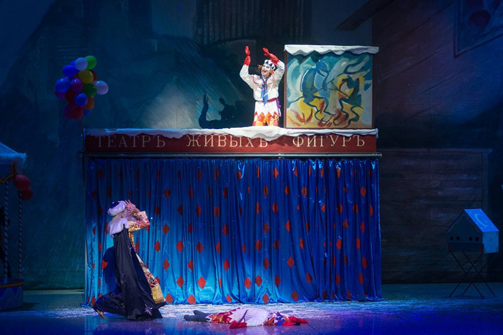 Сцена из балета Петрушка в постановке Большого театра республики Беларусь - 4.jpg