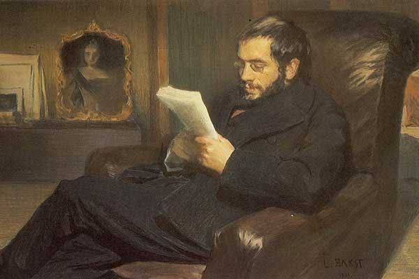 Александр Бенуа. Портрет работы Леона Бакста, 1898.jpg