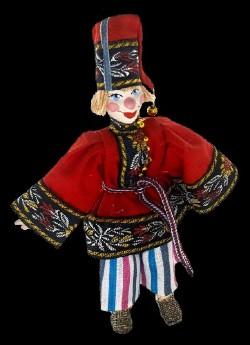 Петрушка - Сувенирная кукла из коллекции Куклы подвесные - Россия - Потешный промысел Санкт-Петербург.jpg