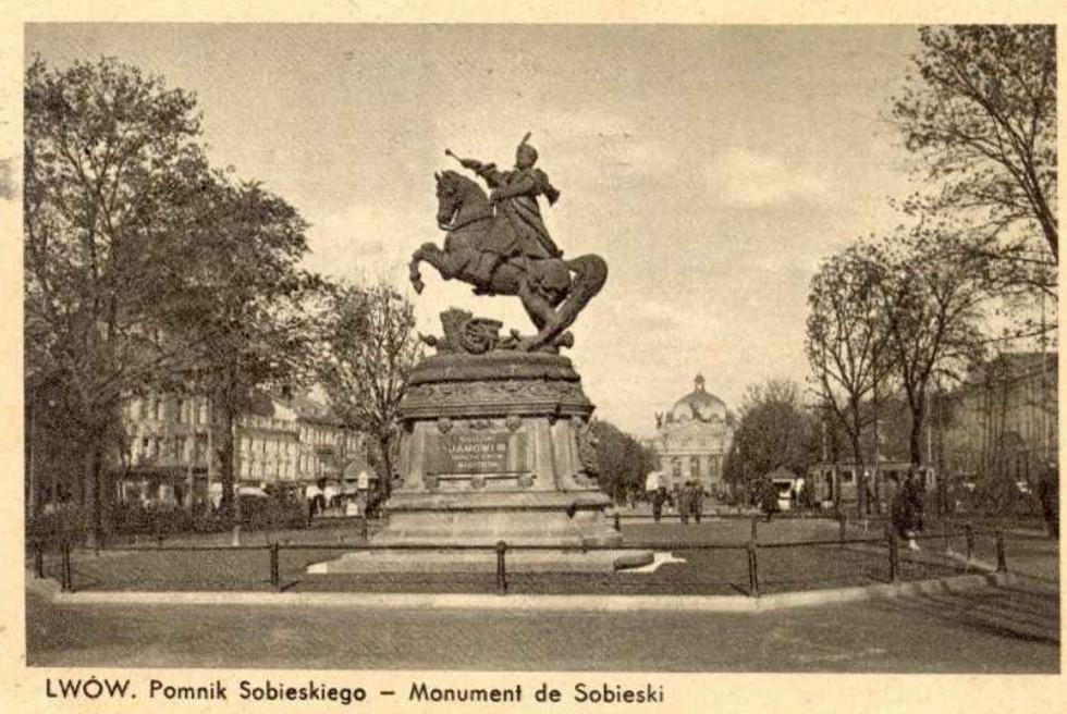 Памятник королю Яну III Собесскому - Фото 1939.jpg