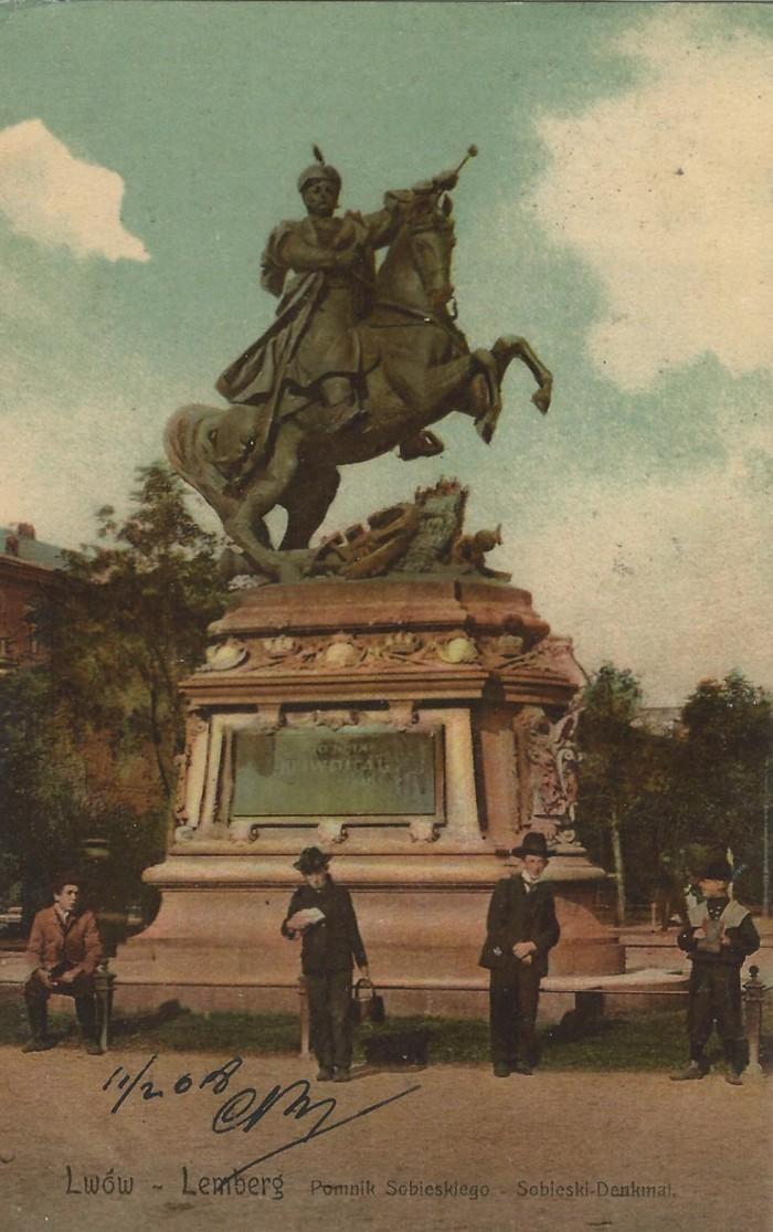 Памятник Яну III Собескому - 1908.jpg
