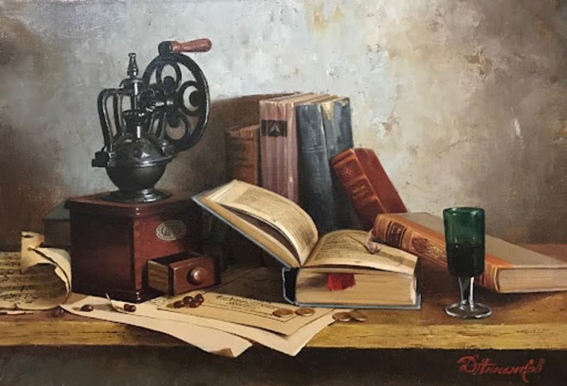 Дмитрий Анненков - Старая кофемолка.jpg