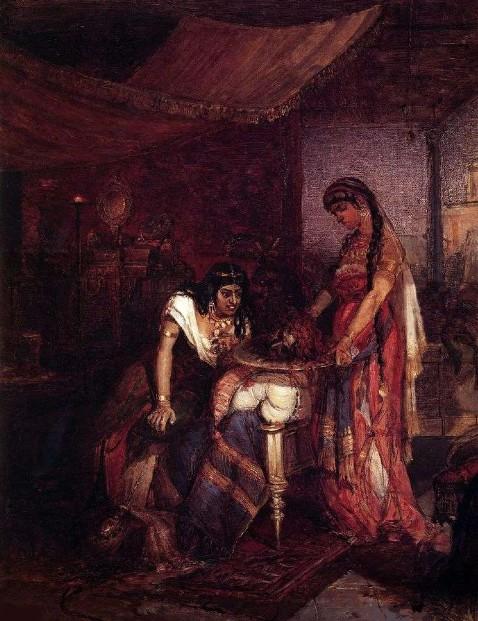 Василий Суриков - Саломея приносит голову Иоанна Крестителя своей матери Иродиаде.jpg