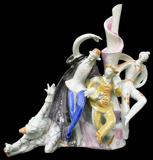 Тарталья, Панталоне, Бригелла и Труффальдино - маски из спектакля Турандот по пьесе Карло Гоцци.jpg