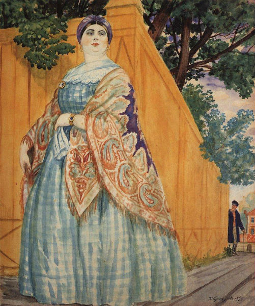 merchant-s-wife-on-the-promenade-1920-1