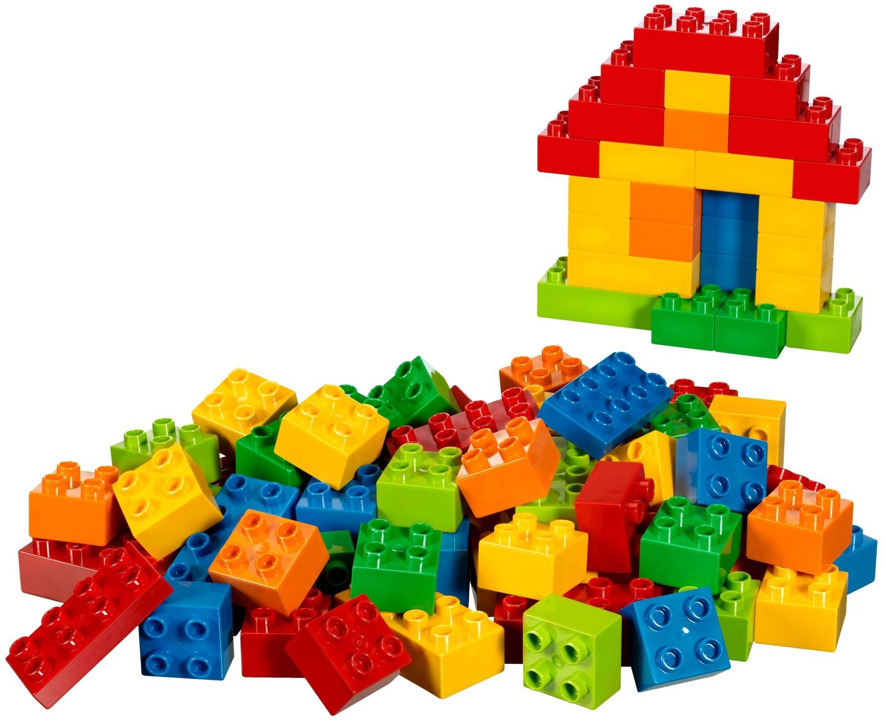 схема цветная конструирования кубиками