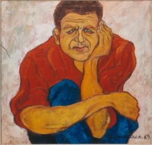 портрет НН Беляева