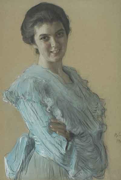 портрет Нины Хрущёвой