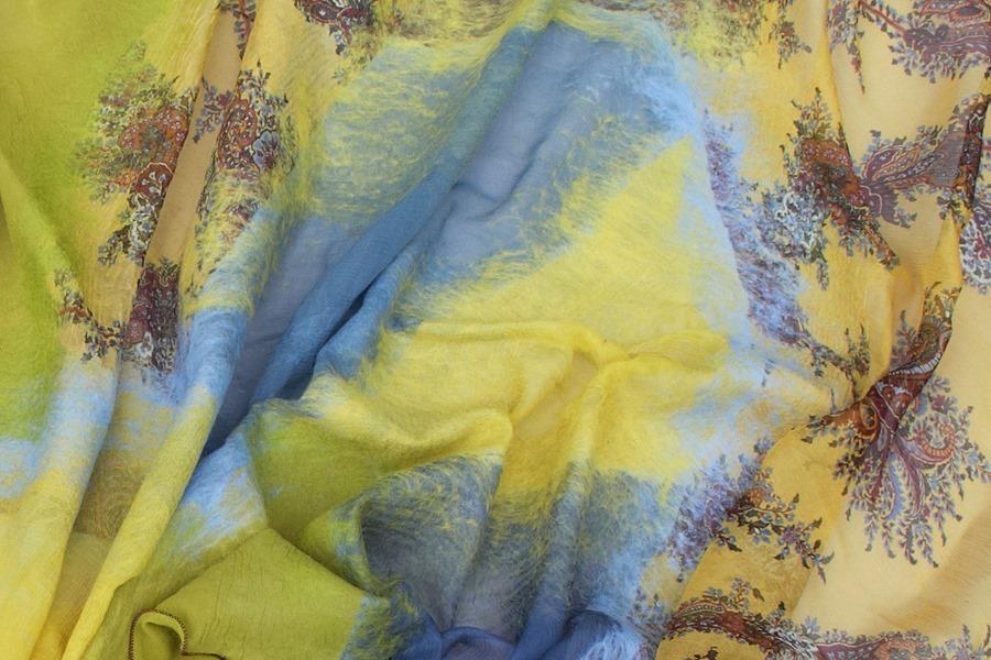 Scarf_Yellow_Сhartreuse6