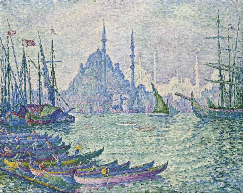 Поль Синьяк Venise. La Salute. Vert (1927)