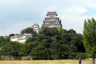 Himeji castle from far