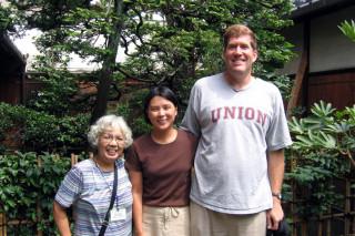 Us and our translator for Nijo Jinya