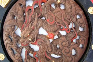 Sensô-ji lantern carving