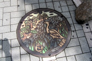 Komae manhole cover