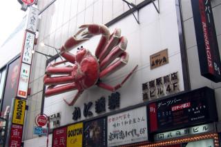 Shinjuku giant crab