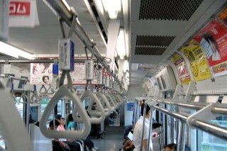 Chad's-eye view of Tokyo subways