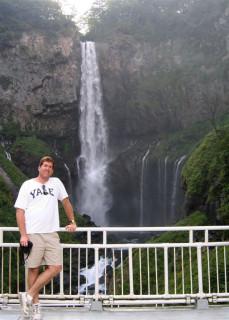 Chad at Kegon Falls