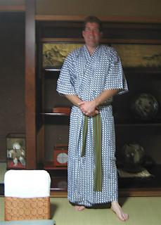 Chad in yukata
