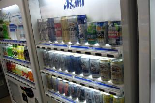 Beer vending machine, Ôsaka hotel