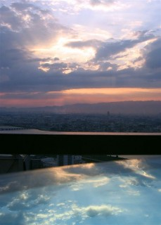 Ôsaka sunset