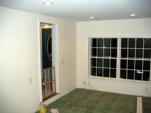 almost-finished garage remodel, June 3, 2008 (front)