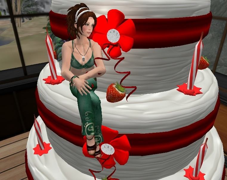 "Photo taken at Sinful Temptations Boutique (it""s a cake you can pop out of)"