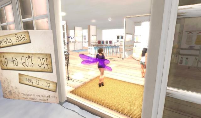 Party Dress in Purple