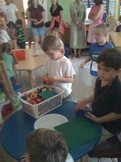 Teddy Doing Lego