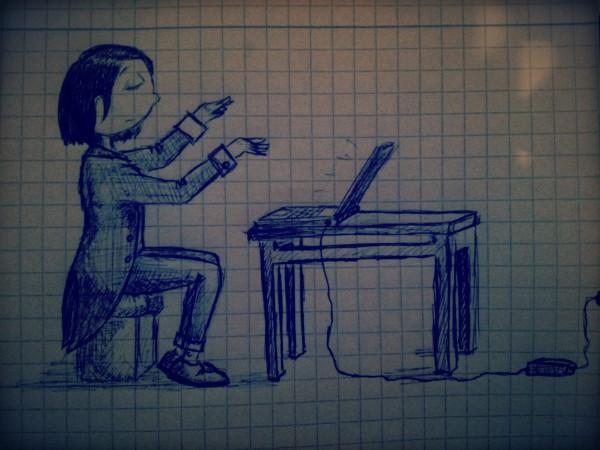 нарисовано мной на какой-то не дуже интересной лекции:)
