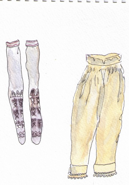 Jane Franklin's pantalets and French silk stockings 300dpi