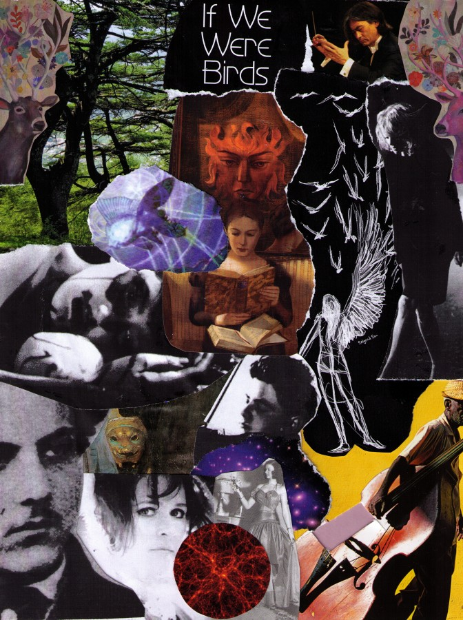 Collage for Goldfrapp's Annabel