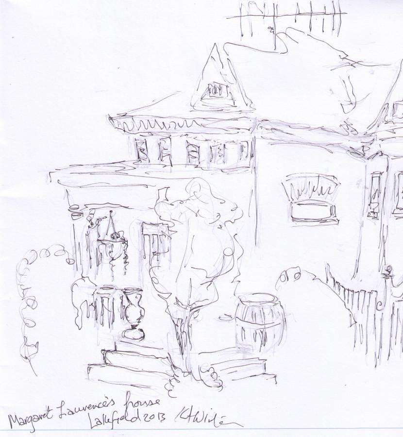 Margaret Laurence's house Kathleen