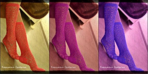 collage носки