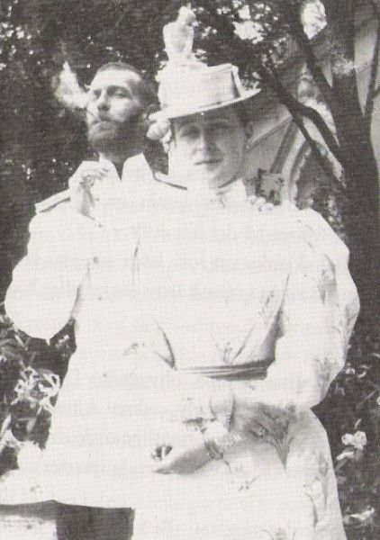 Сергей Александрович с супругой