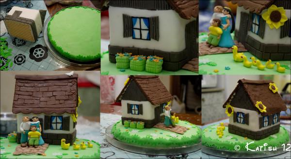 Как делается торт с фотографиями