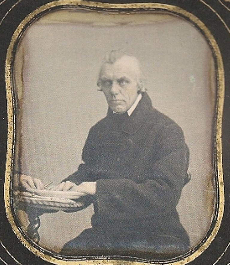 Дмитрий Осипович Портнов, купец, 1854-1855, Москва. фотограф Иосиф Пейшес
