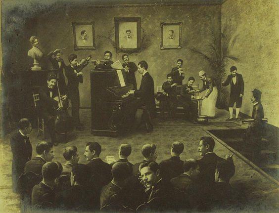 Valério Vieira. Os trinta Valérios, c. 1901.