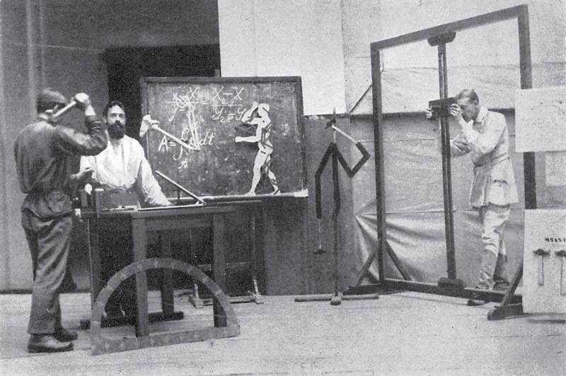 Циклографическая съемка в лаборатории ЦИТ