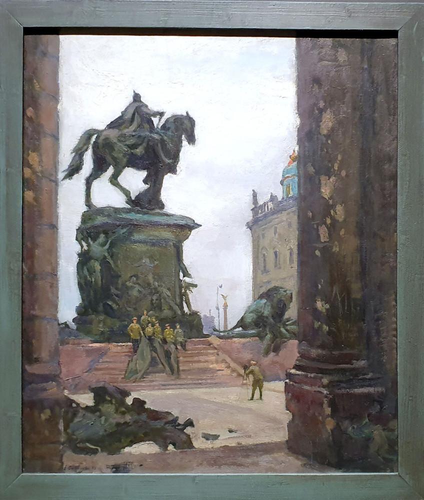 Николай Соколов. Сталинградцы в Берлине. 1945. Пермская художественная галерея