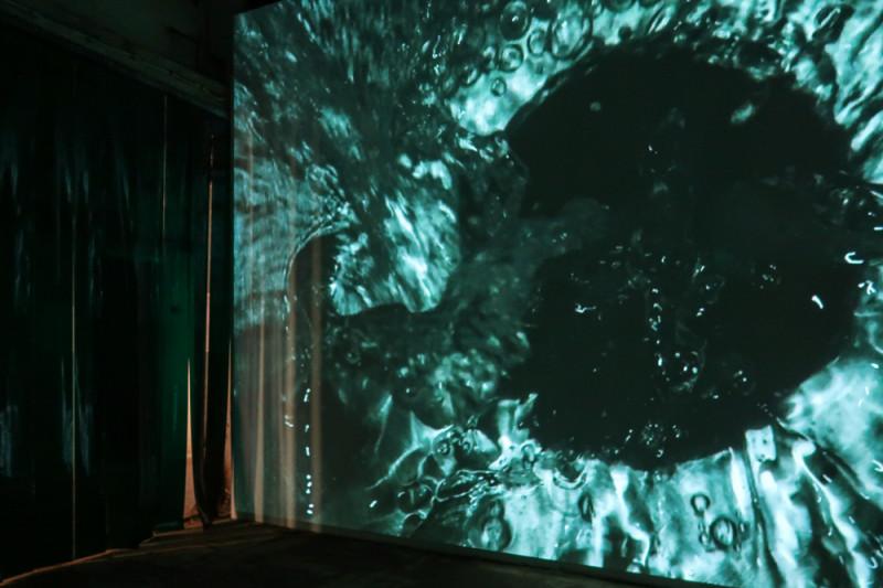 Cиприен Гайяр. Ocean II Ocean. на 5-ой Уральской индустриальной биеннале