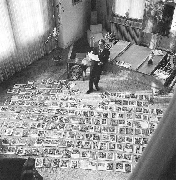 André Malraux ©Maurice Jarnou. 1954