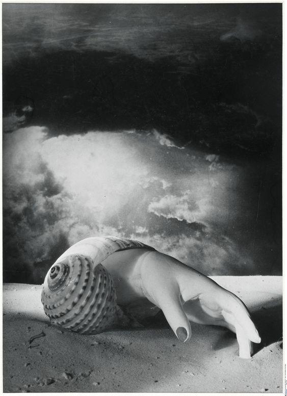 Dora Maar Untitled (Hand-Shell) 1934