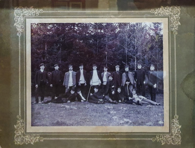 Участники маевки 1905г. Кимрский краеведческий музей