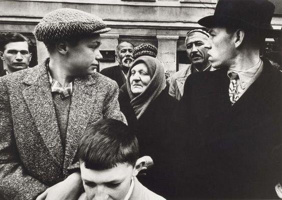 William Klein. May Day Parade, Gorki Street, Moscow, 1961