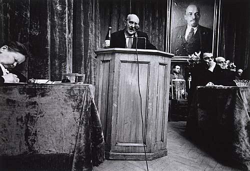 William Klein. Actor's Union Praesidium, Moscow