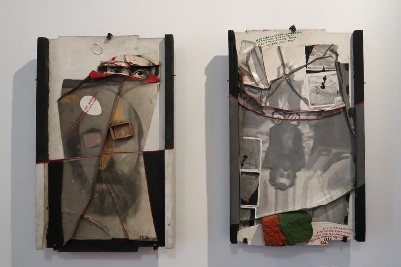 на выставке Евгений Малахин «В процессе случайного». Дом Метенкова. Екатеринбург
